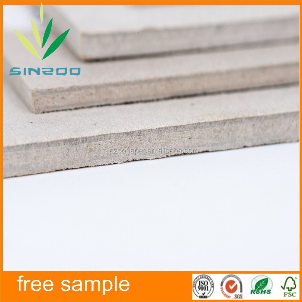 factory directly manufacuture different size and thickness hard cardboard