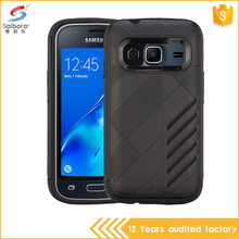 Factory price 2 in 1 mobile phone cover for samsung galaxy j1 mini