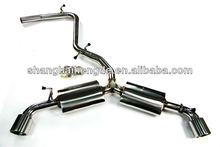 CATBACK Exhaust system for audi / DOWN PIPE/ EXHAUST PIPE for AUTI TTS 2.0T