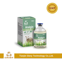 Animal drugs 100ml pack Analgin 30% 50% injection for cattle camel