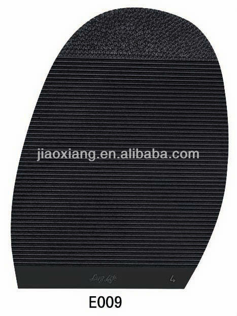E037 Rubber Shoes Repair Material For Custom and Products, Lightweight Rubber Shoe Sole Material