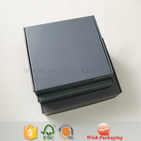 Solid Gray Color Luxury Clothes Box