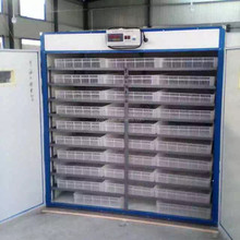 Practical Fully Automatic Poultry Chicken 20000 Eggs Incubator Price With Egg Candler White
