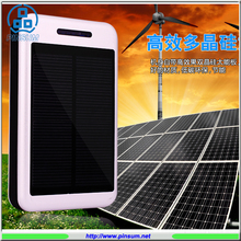 Dual USB 12000mah solar power bank,18650 Battery solar mobile charger