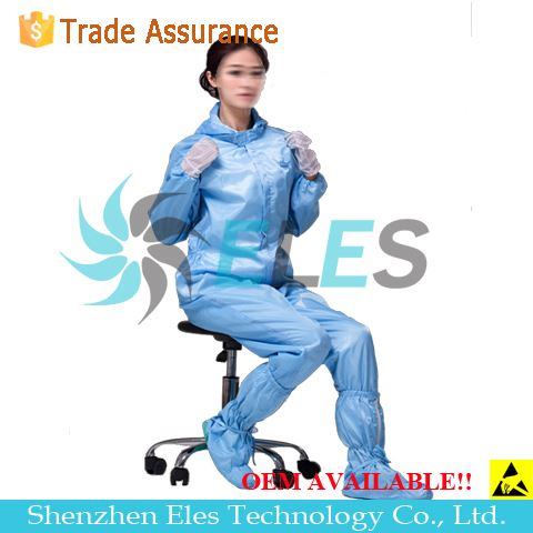 Static Dissipative Clean Room Anti-static Coverall