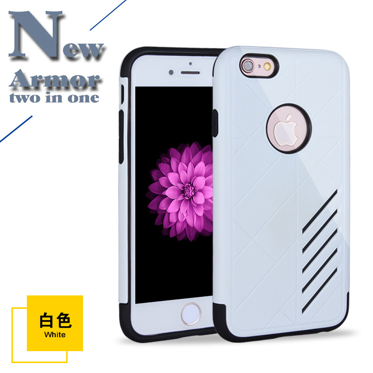 cellphone accessories manufacturer wholesale white color mobile phone cover for iPhone 6 6s