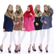 Malaysia Indonesia women loose tops muslim clothes