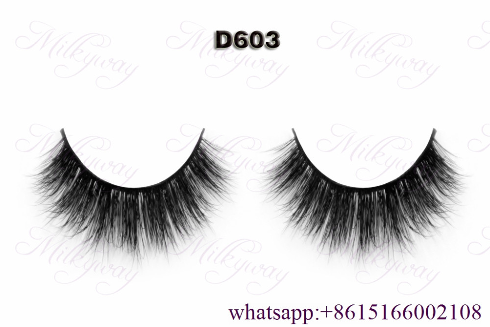 Diversified mink lashes 100% 3D mink fur strip eyelashes with customized boxes