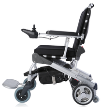 e-Throne! New Innovative design 10'' folding motorized wheelchair CE/FDA approved, best in the world PLN 17001