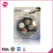 Senos Professional Makeup Naked Cosmetics Private Label Eye Shadow Palette No Logo No Brand