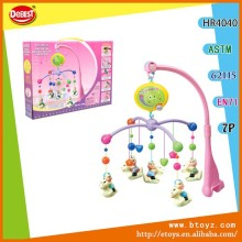 Plastic baby crib musical mobile wind up mobile baby toys