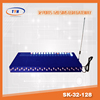 32 channel 128 port voip /gsm gateway with antenna for free registration