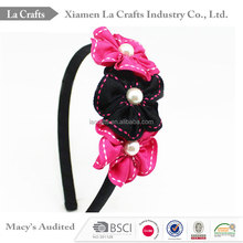 Fashion classical suit series girls flower hair bands for retail