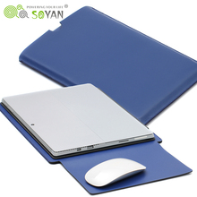 For Microsoft Surface Pro 3 leather case 12.3/13.5 inch Laptop leather bag surface pro 4 case
