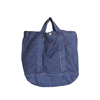 Custom Simple Large Capacity Tote Denim Jean Bags