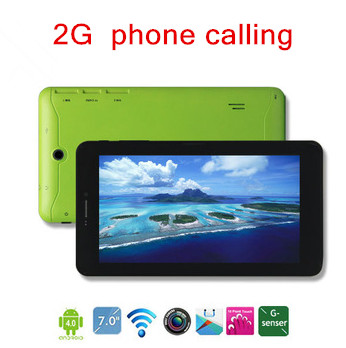 Hot selling 7 inch 2G Phone Call Allwinner A13 Android Phone Tablet MAX712 GSM