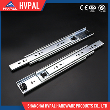HVPAL 51mm 3 sections ball bearing heavy duty drawer slide guide