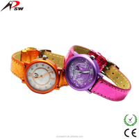 High quality aluminium watch fancy kid watch with different color