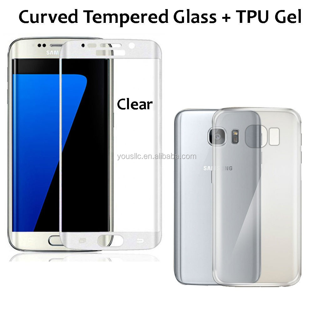2017 Chinese factory wholesale Tempered glass screen protector / smart tempered glass screen protector for samsung S7 S7 EDGE
