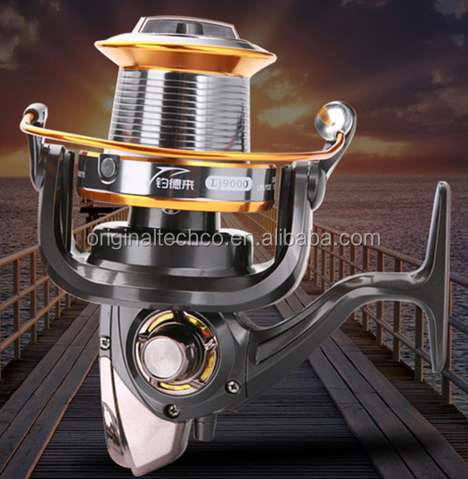 China New Hose Carp Spinning Fishing Reel High Quality Cheapest Big Game
