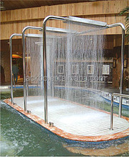 2015 hot Vichy shower,Stainless Steel Massage Bath