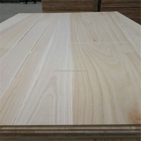 FSC Paulownia Edge Glued Laminated Board From China factory
