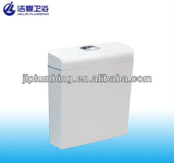 New fashion push button T6010 Sanitary ware toilet water tank
