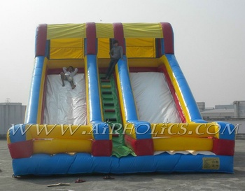 inflable tobogan doble calzada A4032