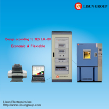 LEDLM-80PL LED Lumen Aging and Life Tester as LESNA LM-80-2008 LM-82 TM-21 can export PDF test report for light testing