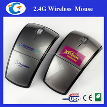 Foldable Wireless Optical Computer Mouse