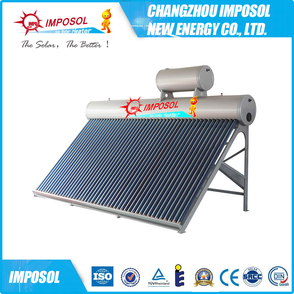 All Stainless Steel Non Pressure (Low Pressure) Solar Water heater