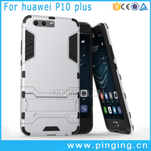 2 in 1 PC TPU Hybrid iron Man Armor Case For Huawei P10 Plus