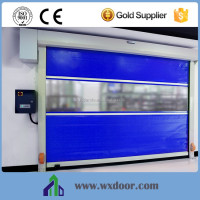 China PVC plastic fast interior roll up door