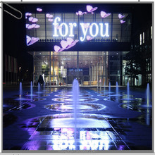 Outdoor Full Color Video Display Function P25 P31 Transparent Curatain Display, Transparent LED Glass Wall display