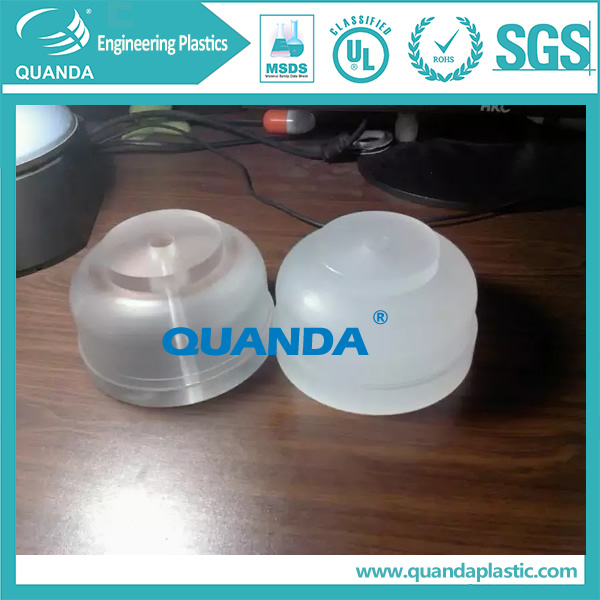 clear acrylic/PMMA turning part machied part
