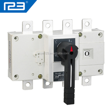 YGL-250 Electrical Isolator Types 250A Isolator Switch 4P