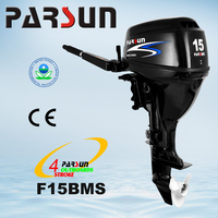 F15BMS 15HP 4-stroke short shaft outboard engine boat motor outboard motor