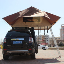 Outdoor fiberglass car roof top tents