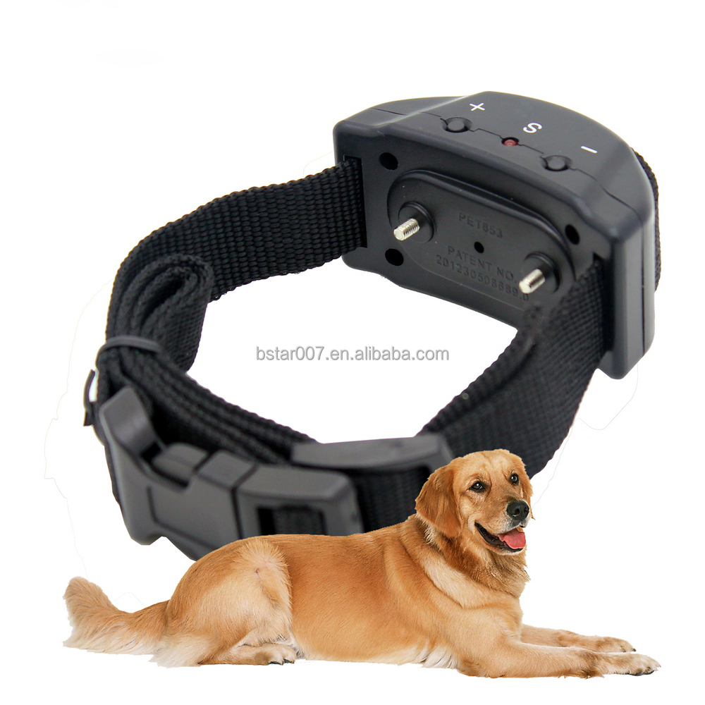 New collar dog Anti Bark Stop Collar dog 7 Levels Intensities Dog Training Shock Collar PET853