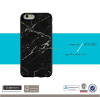 "2016 unique Stone painting pattern 3D cell phone case for iphone 6 4.7"" with factory price genuine marble covers"