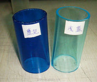 Colored polycarbonate pipe