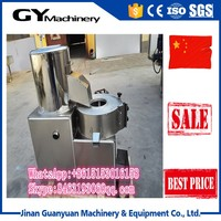 High quality and reasonable price potato chips cleaning peeling and cutting machine