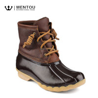 Waterproof Women Short Rubber Duck Boots