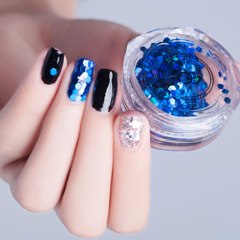 Nail Art Acrylic Shiny Glitter Powder