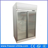 China suppliers used commercial supermarket display showcase fridge refrigerator for sale