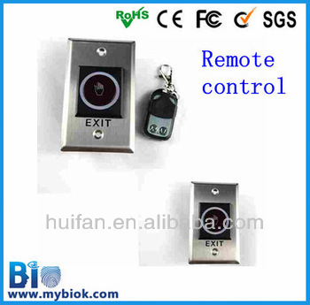 Remote Control Sensitive Exit Button for Door Access Control SystemHF-K2