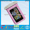 Reusable outdoor screen touch PVC waterproof bag for iphone