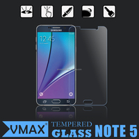 9h Anti shock screen guard / tempered glass screen protector film for Samsung Galaxy Note 5
