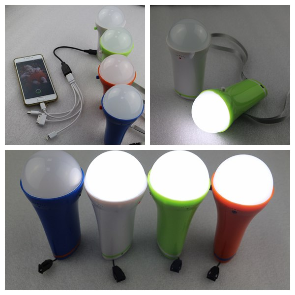 High quality 10W 4pcs superbright led solar light kits with phone charger for camping
