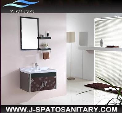 Hot Sale 2013 Hangzhou New Style Delux Furniture Stainless Steel Bathroom